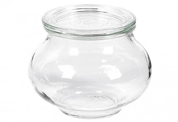 Schmuckglas mit Deckel 220ml
