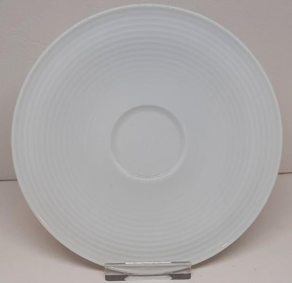 Beat weiss Kombi-Untertasse groß 16,5 cm