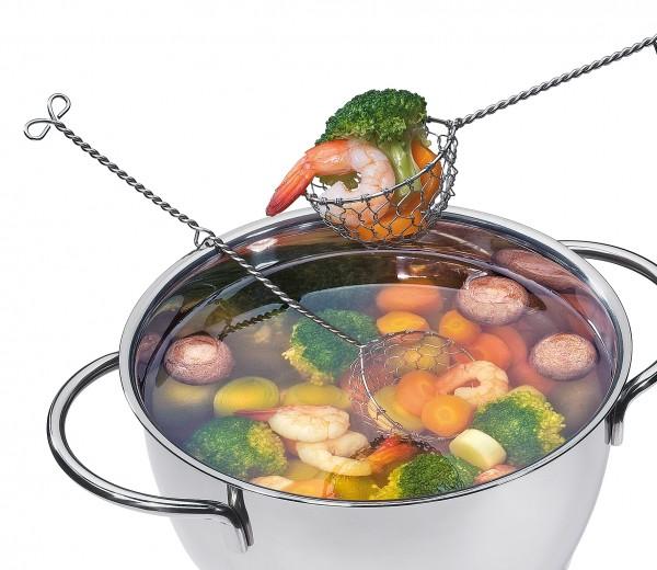 Siedelöffel Inox Profi Küche Einzeln